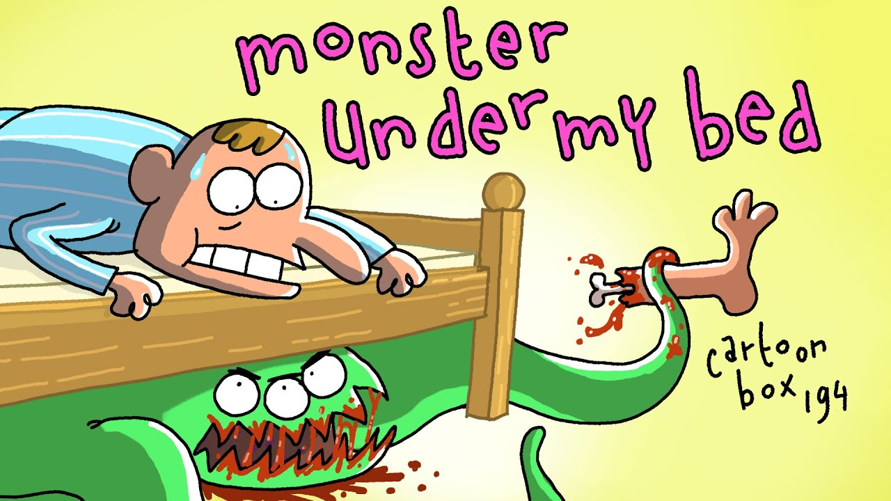 Monster Under My Bed! | Cartoon Box 194 | by FRAME ORDER | hilarious animated cartoons