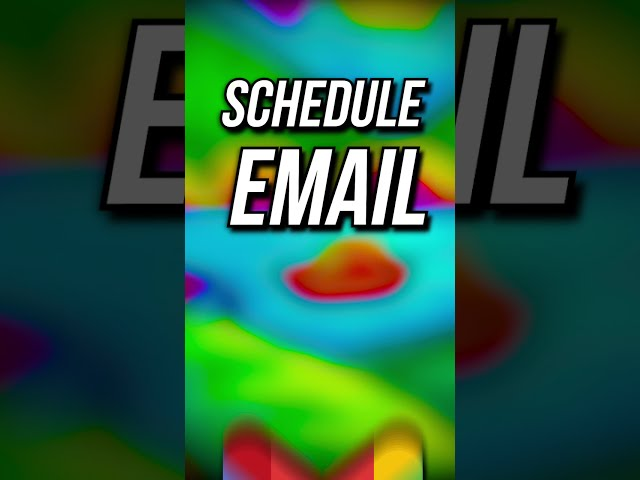 How to Schedule Email in Gmail 🧐