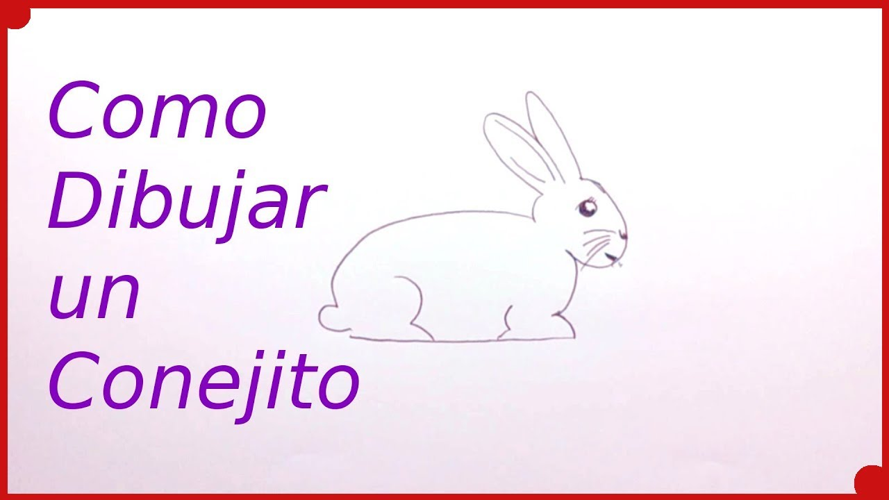How to Draw a Rabbit very easy  Drawing Techniques for Children