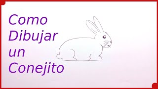 Cómo Dibujar un Conejo Muy Fácil | técnica de dibujo para niños