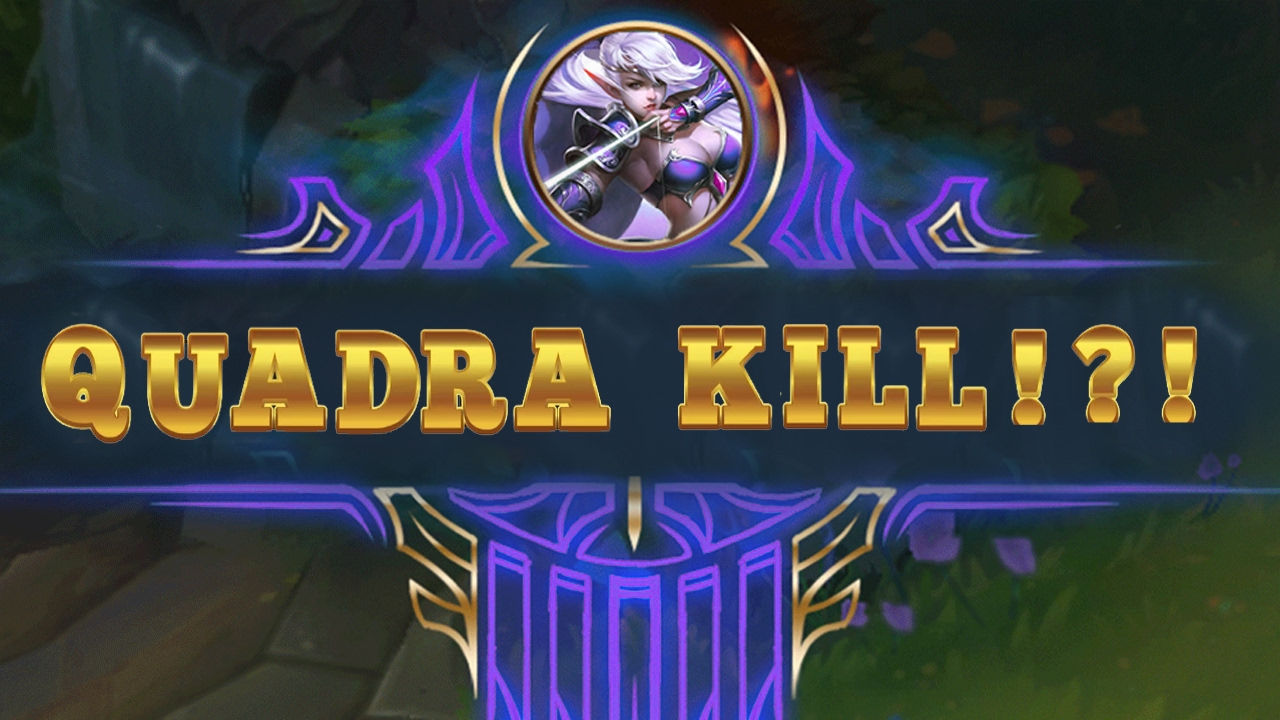 MY FIRST QUADRA KILL! / THANK YOU SO MUCH FOR 50 SUBS
