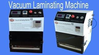 Vacuum Laminating OCA Machine LCD Repair Tool for iPhone Phone Touch Screen Separator