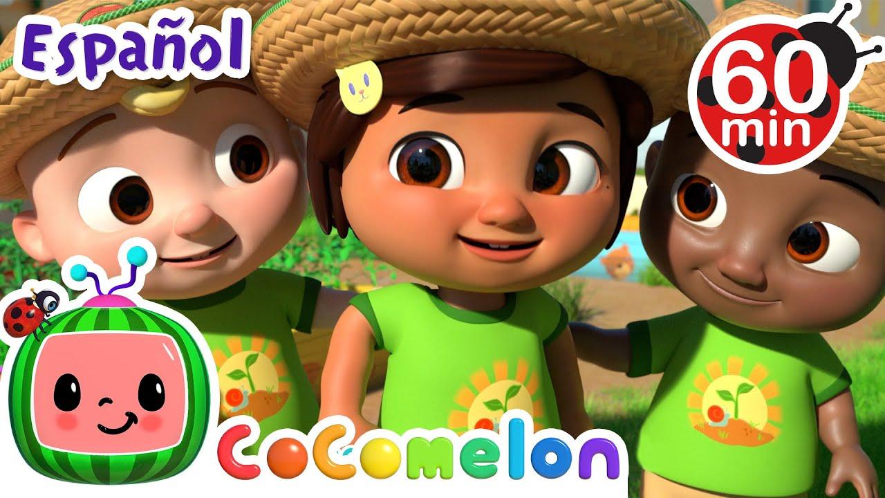 CoComelon en Español | El guiso del huerto | Canciones Infantiles y de Cuna