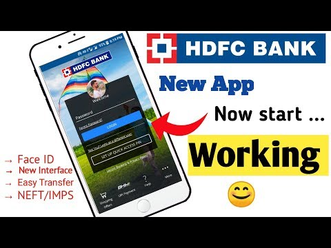 HDFC New Mobile Banking App | How to use HDFC new mobile Banking  App  | next generation app HDFC