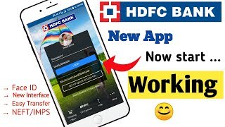 HDFC New Mobile Banking App  How to use HDFC new mobile Banking  App   next generation app HDFC