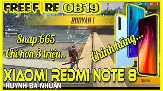 Garena Free Fire | Xiaomi Redmi Note 8 Chính Hãng Test Free Fire OB19 | Redmi Note 8 Free Fire Test