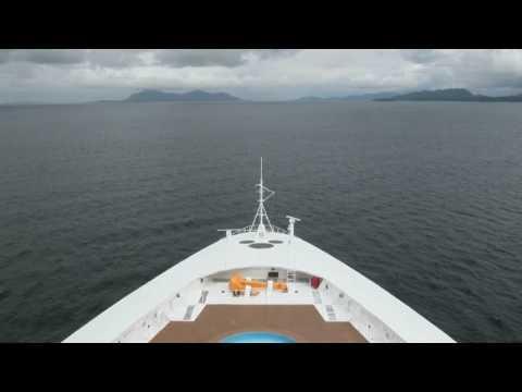 Raw Video Footage of a Day at Sea, Cruising Alaska's Inside Passage on Disney Wonder