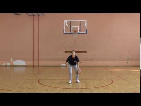 Vođenje lopte u mjestu