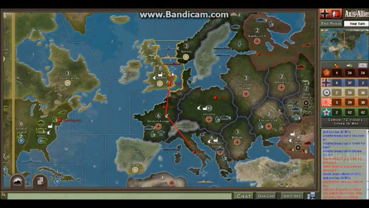 Axis & Allies Download ( Strategy Game)