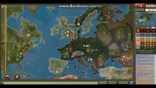 Axis and Allies 1942 Germany Gameplay and Strategy Episode 1