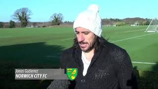 First interview with Norwich City channel
