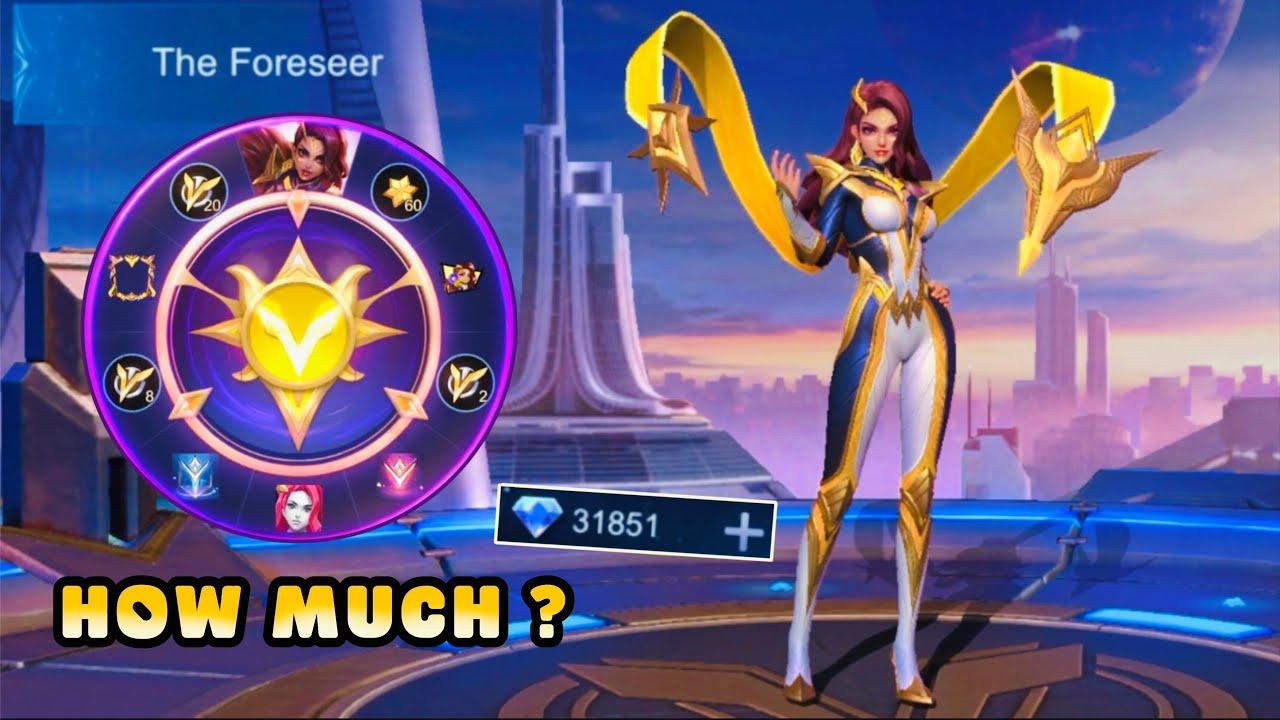 HOW MUCH IS ESMERALDA THE FORESEER HERO SKIN?   Esmeralda Future Foreseen Event - MLBB