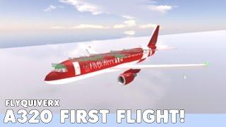 FlyQuiverx A320 Flight! | Roblox