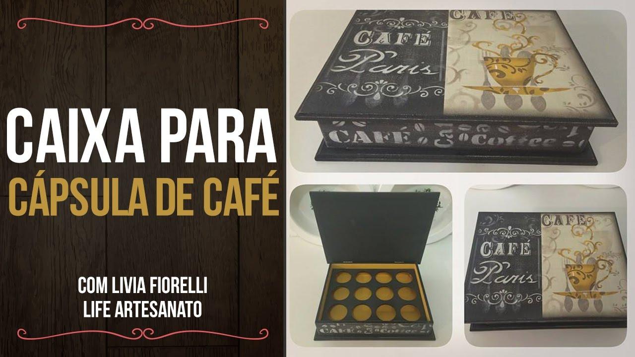 b60627669 Video Aula  Caixa Cápsula de Café