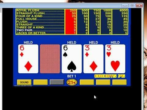 video poker para pc.. (el original de los casinos)