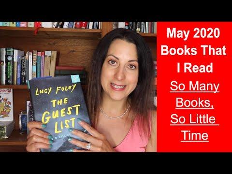 May 2020 Books That I Read | Tea Talk & Book Banter