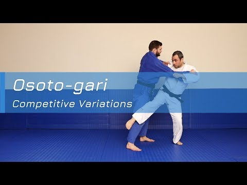 Osoto-gari - Competitive variations