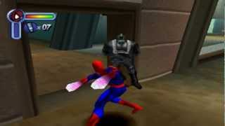 Spider-Man (PS1) Walkthrough Part 1 - Bank Heist