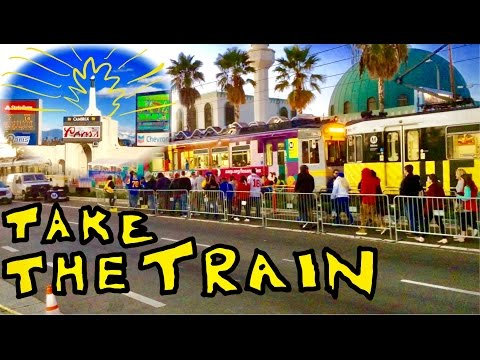 How To Get To The LA Colliseum On The Metro Train