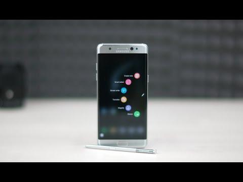 مراجعة جهاز Samsung Galaxy Note 7