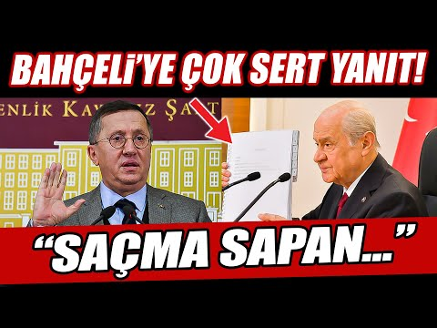 İYİ Parti'den Devlet Bahçeli'nin yeni Anayasa önerisine çok sert yanıt! \