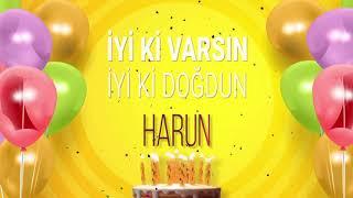 İyi ki doğdun HARUN- İsme Özel Doğum Günü Şarkısı (FULL VERSİYON)