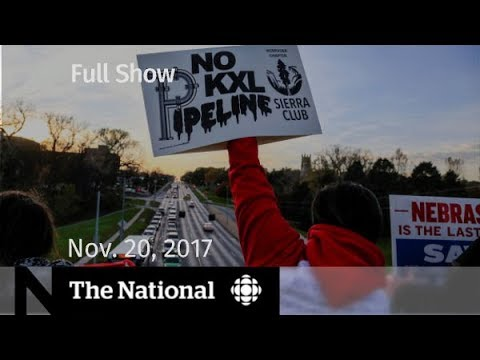 WATCH LIVE: The National for Monday November 20, 2017