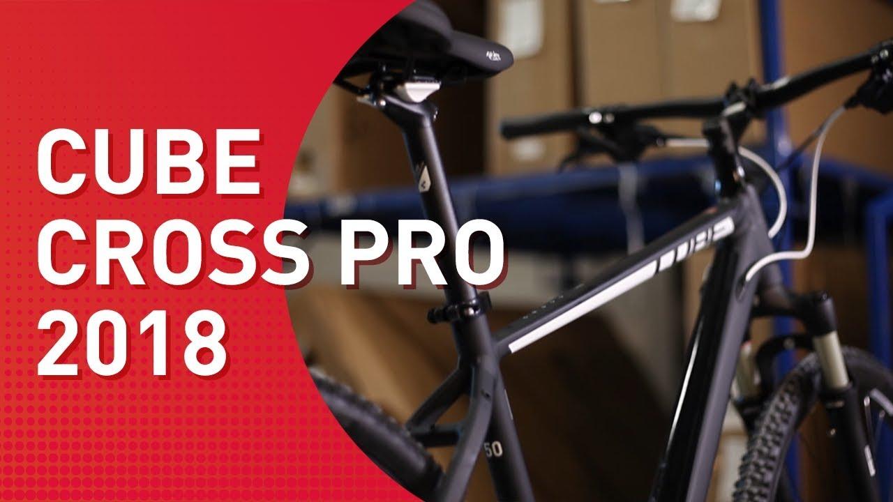 Cube Cross Pro 2018 Crossbike Youtube
