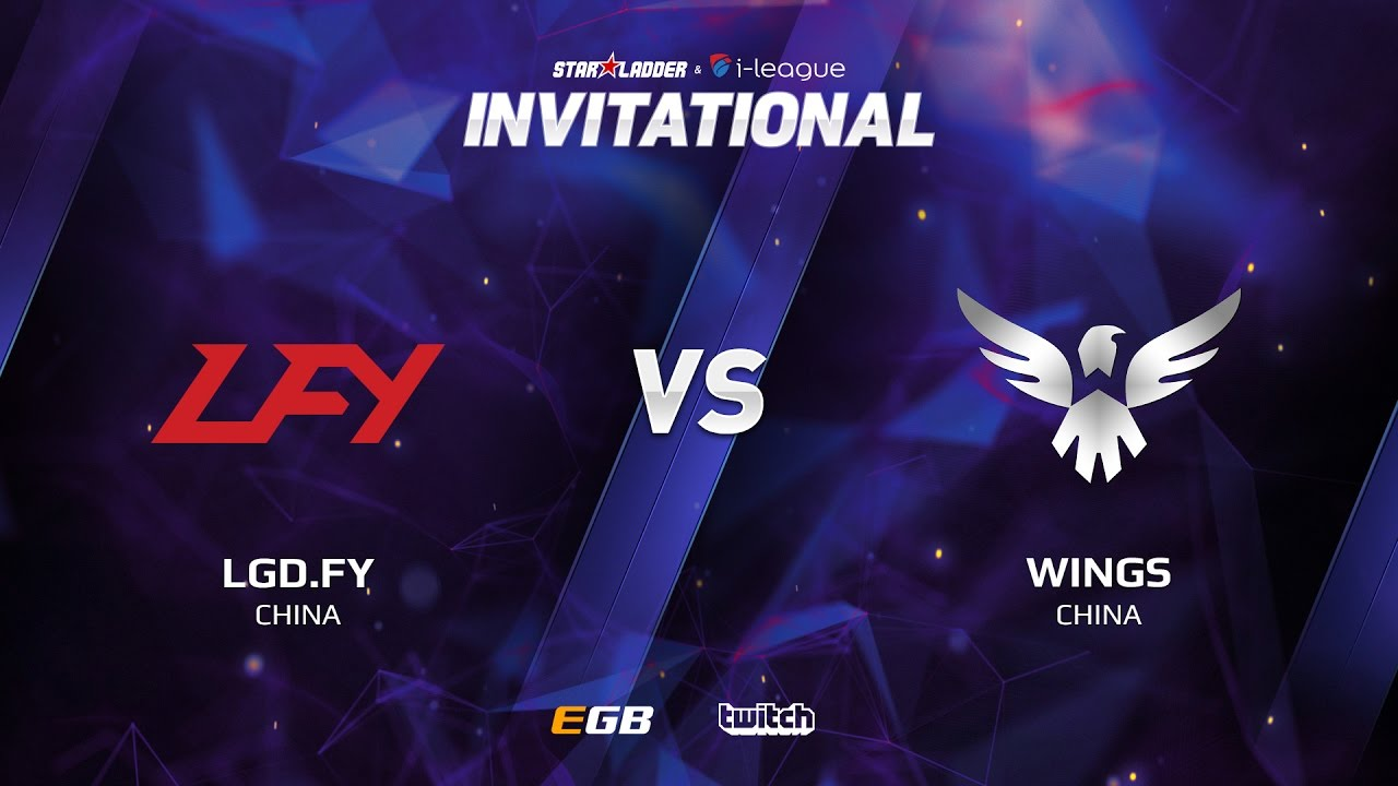 LGD.FY vs Wings, Game 2, SL i-League Invitational S2, CN Qualifier