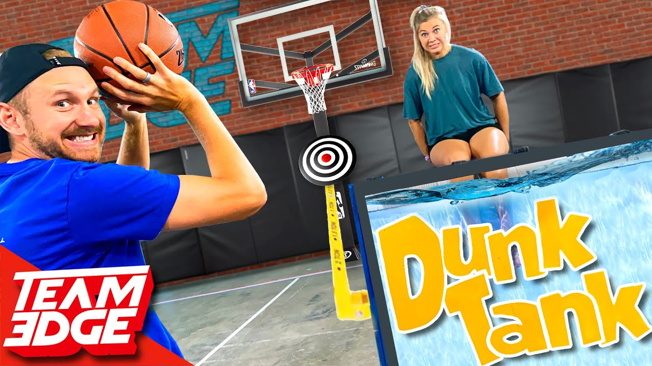 Don't Dunk Your Wife Challenge!! | Dunk Tank Basketball!! Crazy Sports