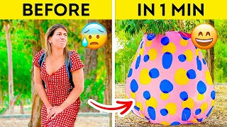 ONE-MINUTE DIY OUTDOOR TOILET Road Trip Hacks &amp Tips To Make Your Experience Way More Fun