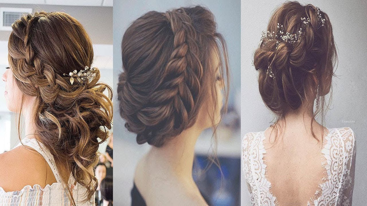 best hair style for wedding ||wedding and party wear hair style ||easy and beautiful hair style