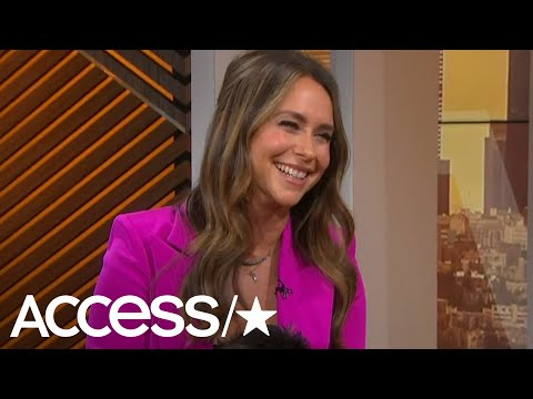 Jennifer Love Hewitt's Former TV Flame Crashes Her Interview With Surprise Message | Access