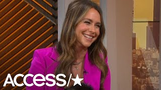 Jennifer Love Hewitts Former TV Flame Crashes Her Interview With Surprise Message | Access YouTube Videos