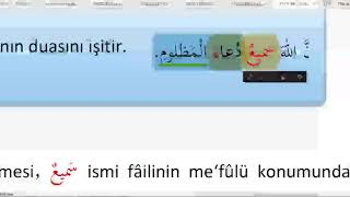 Ata Üni #Arapça 3 / 12.Ünite /
