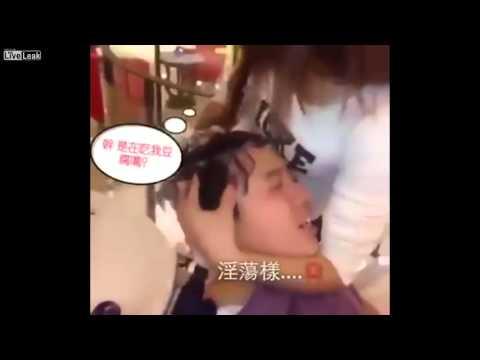Đi massage gội đầu dê gái - Thánh nhọ bị gái nó đập nát tờ rim