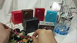 "Desktop Noise Orchestra(Inspired by Luigi Russolo's ""Intonarumori"")"