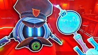 РОБОТ ДЕТЕКТИВ ВЫШЕЛ НА ДЕЛО В СТРИПТИЗ КЛУБ В ВР! - Mr.Hack Jack: Robot Detective