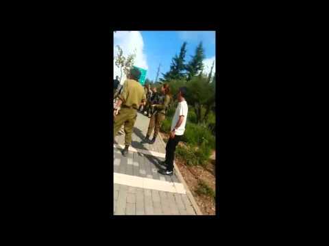 Scene Of Stabbing Attack In Betar Illit