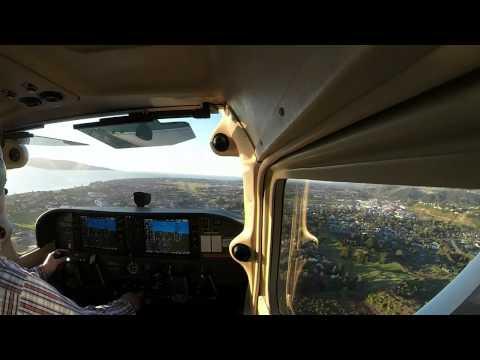 Landing KAZ at Paraparaumu airport