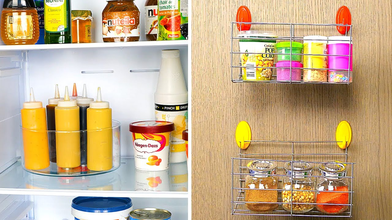 Download 30 SMART KITCHEN ORGANIZATION HACKS || 5-Minute Recipes to Reuse Old Kitchen Stuff!