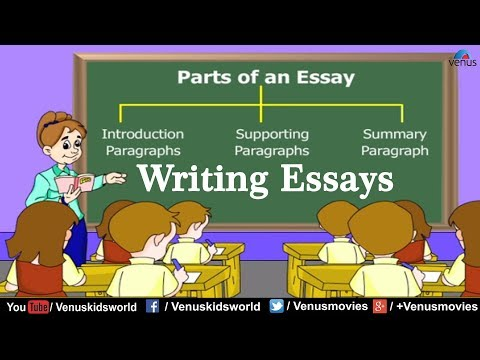 parts of an essays