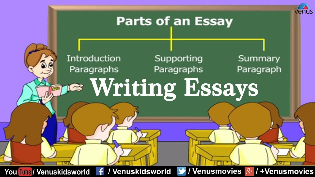 parts of an essay  writing essays  youtube parts of an essay  writing essays