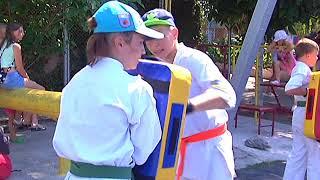Крымская Федерация Кёкусин кан карате до провела учебно тренировочный сбор