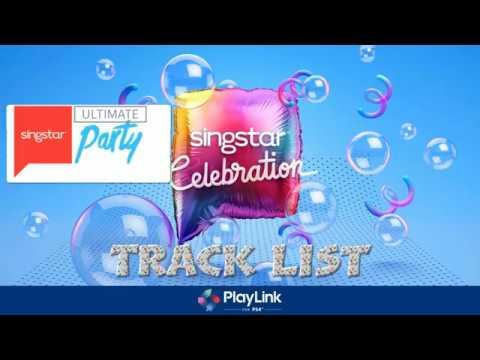Singstar Celebration Track List