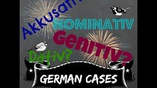 grammar german cases nominativ akkusativ dativ genitiv