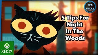 Tips and Tricks - 5 Tips for Night In The Woods