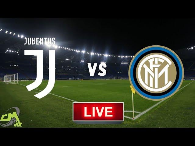 🔴Juventus-Inter LIVE! Cronaca in DIRETTA e commento | Coppa Italia [NO Streaming]