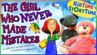 The Girl Who Never Made Mistakes |  a Growth Mindset Book for Kids