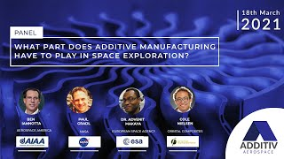 What Part Does Additive Manufacturing Have to Play in Space Exploration? | ADDITIV Aerospace